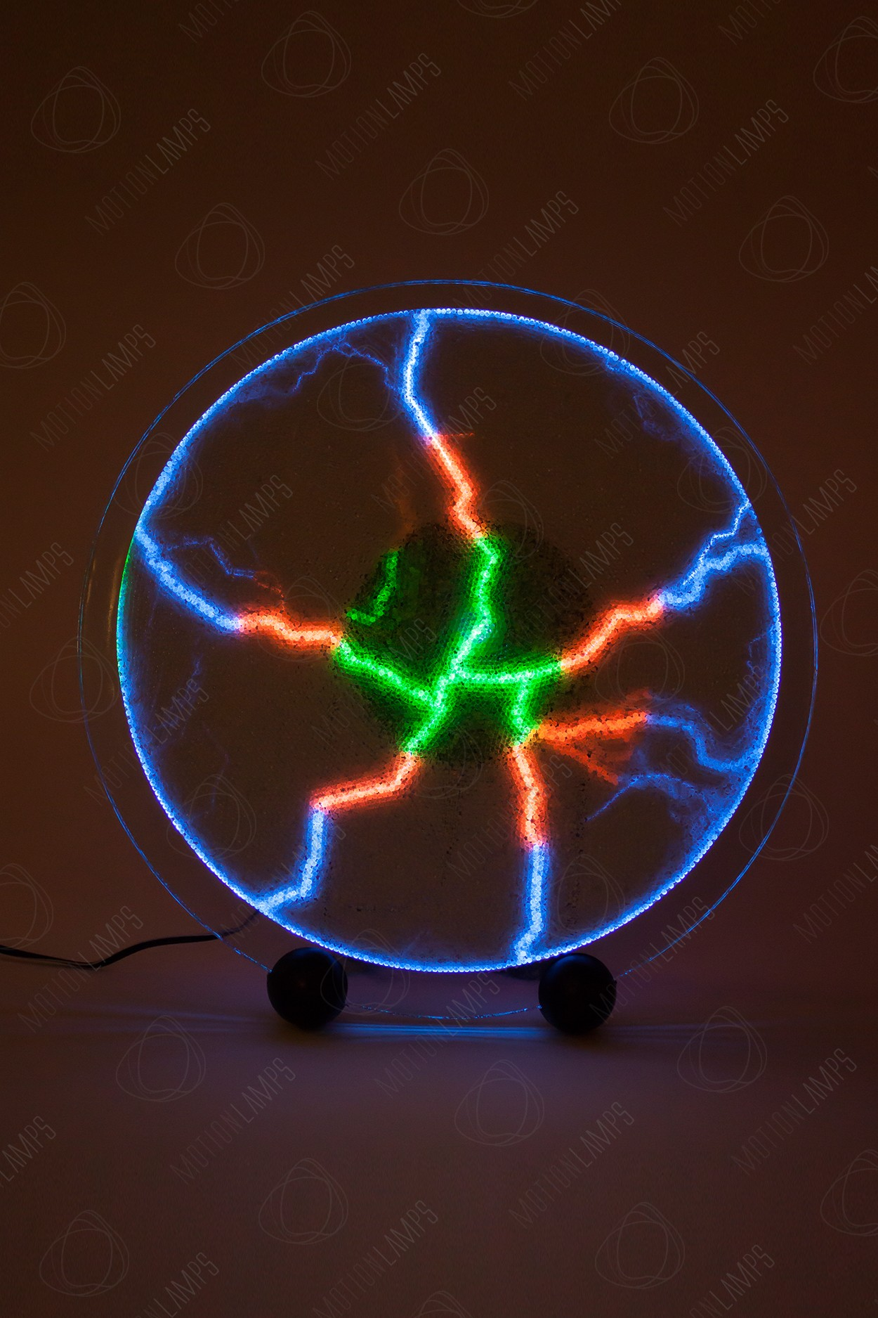 Электрический плазменный диск Тесла Rainbow D - 30см