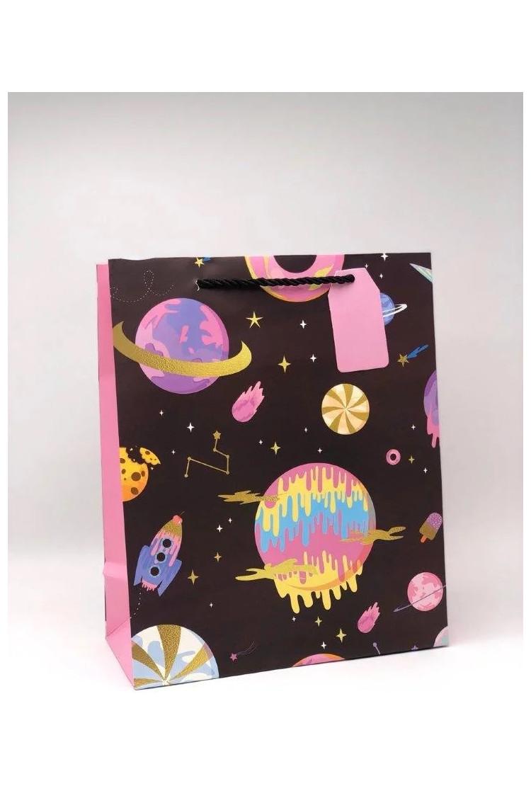 Подарочный пакет Space (26*12.5*32)
