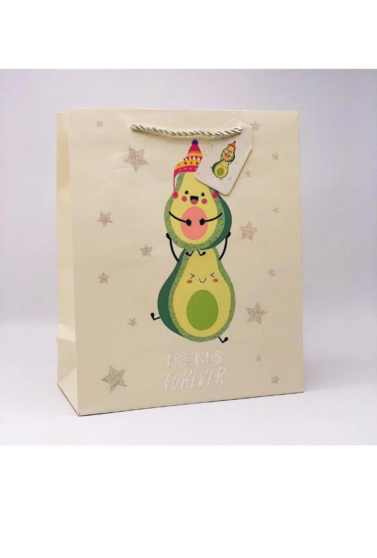 Подарочный пакет Avocado Friends (26*12.5*32)