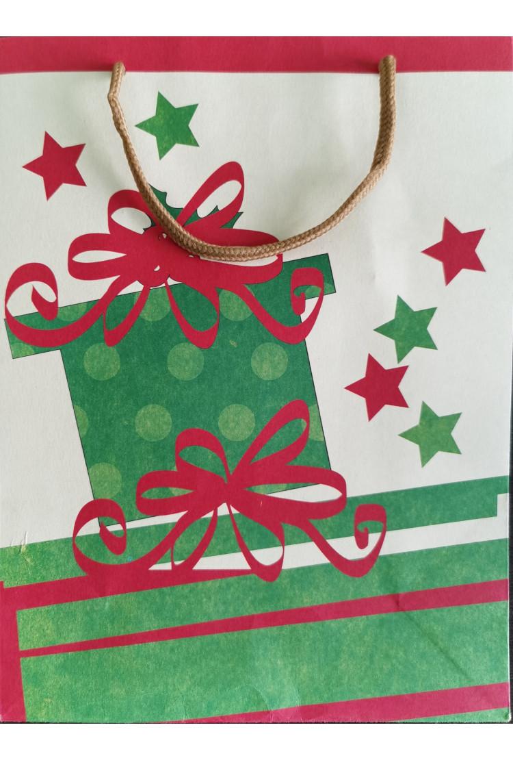 Подарочный пакет Gift (27*21*9)
