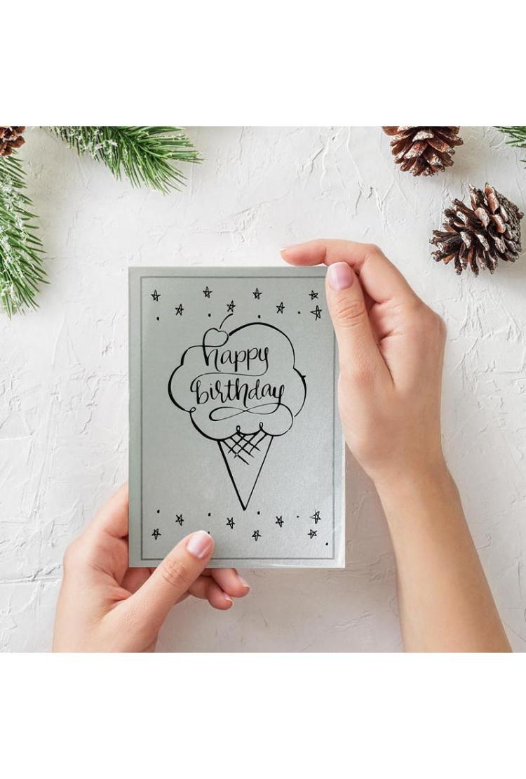 Открытка Happy Birthday (15*10)