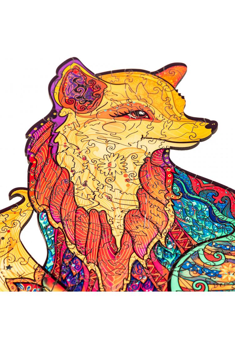 Деревянный пазл Unidragon «Обольстительная Лисичка» (23*18) А5