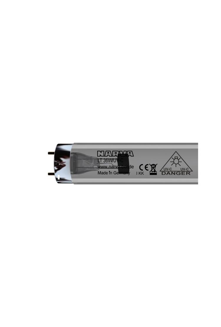 Ультрафиолетовая кварцевая (бактерицидная) лампа 120см 36W
