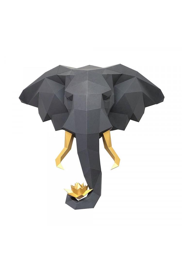 """Трофей """"Слон и лотос, графитовый набор для творчества"""