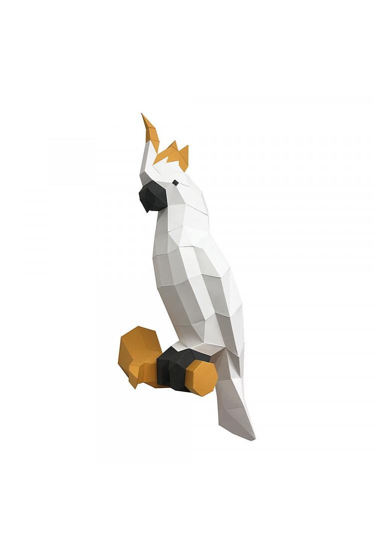 """Трофей """"Какаду"""", белый, набор для творчества"""