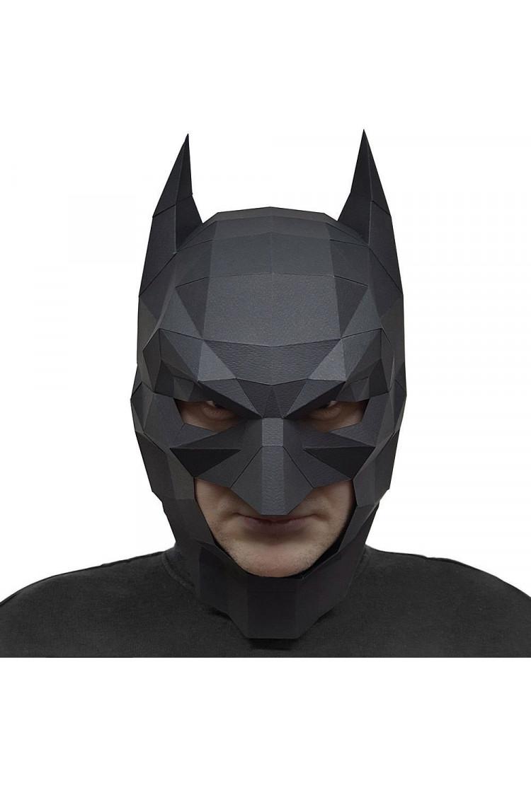 """Маска """"Бэтмен"""", черный, набор для творчества"""