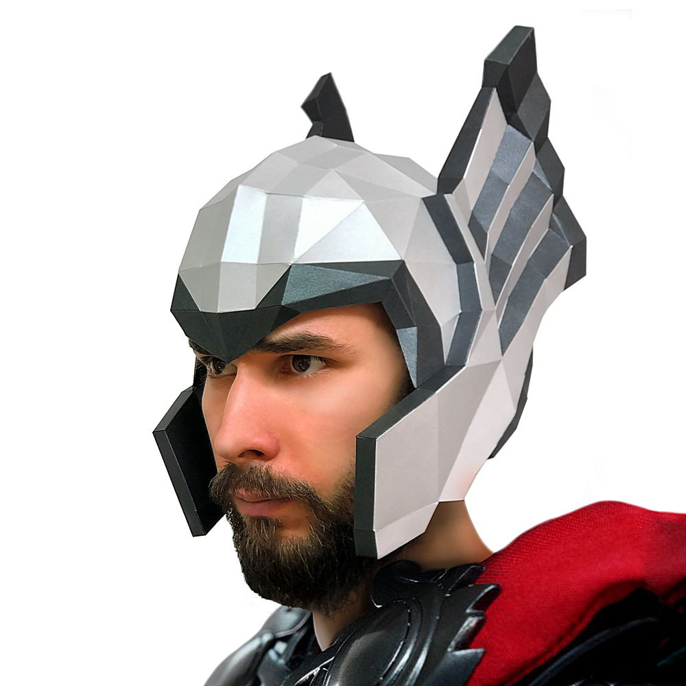 "Маска ""Шлем Тора"", набор для творчества"