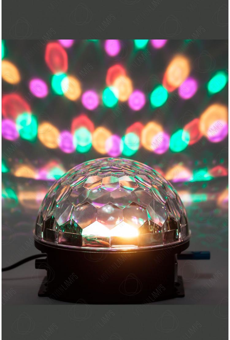 Музыкальный диско-шар LED Crystal Magic Ball Light с ДУ
