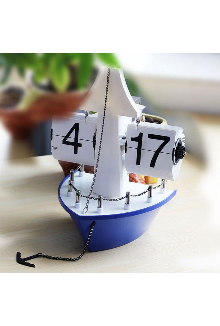 Настольные часы - Корабль AIR- FLIP CLOCK SHIP