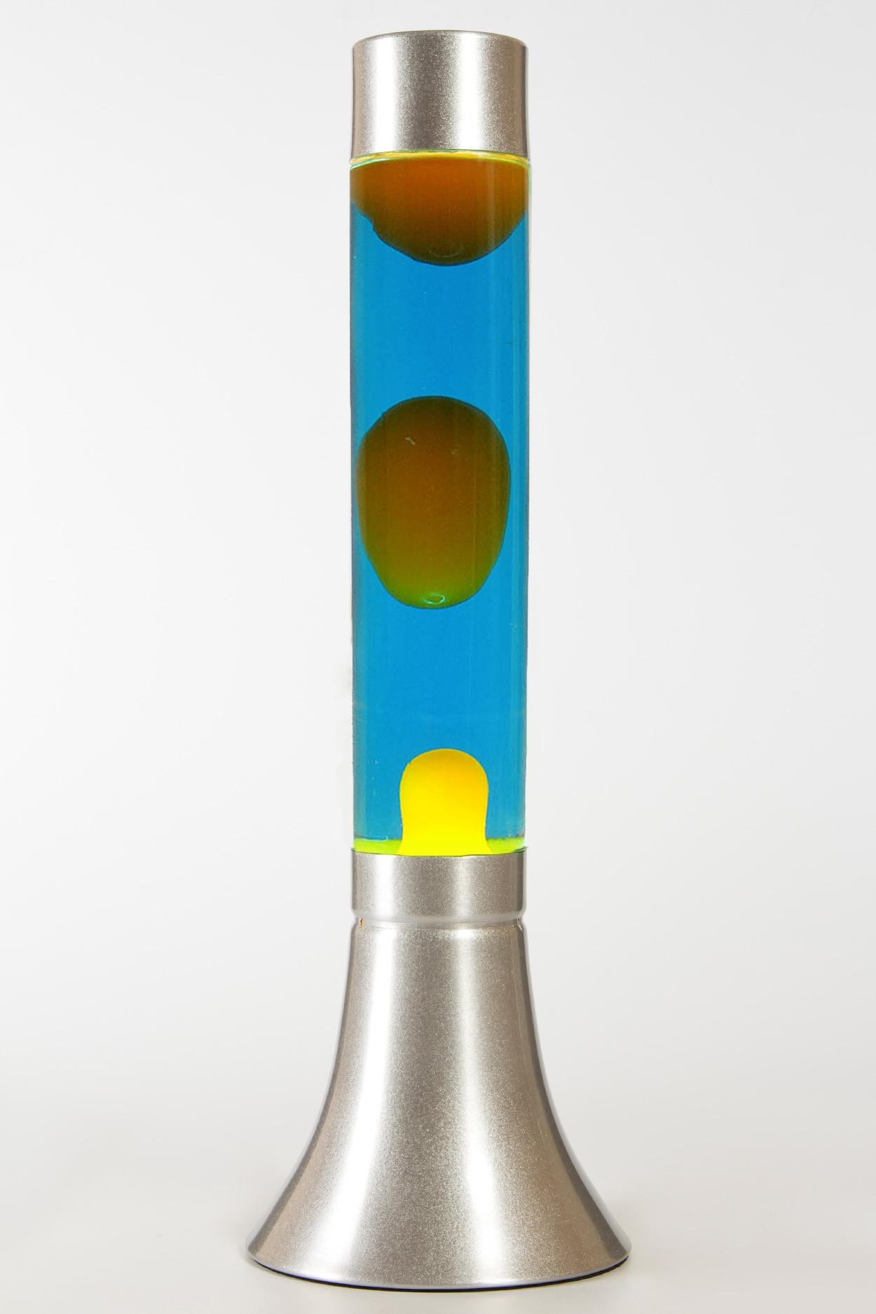 Лава-лампа 39см CY Оранжевая/Синяя