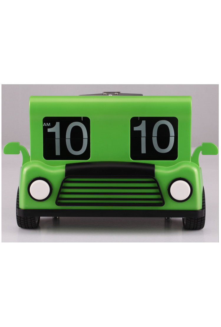 Настольные часы -  Air-flip Car зеленые