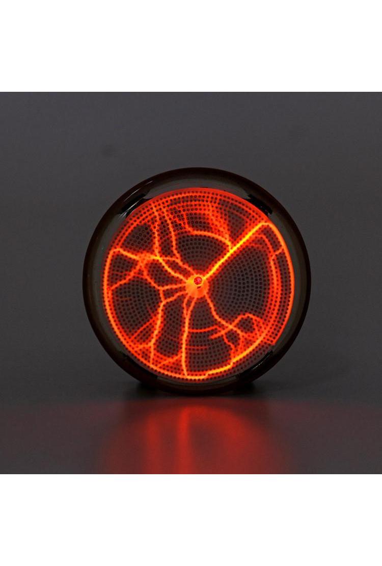 Карманный плазменный диск Тесла Оранжевый (Pocket) D - 7см