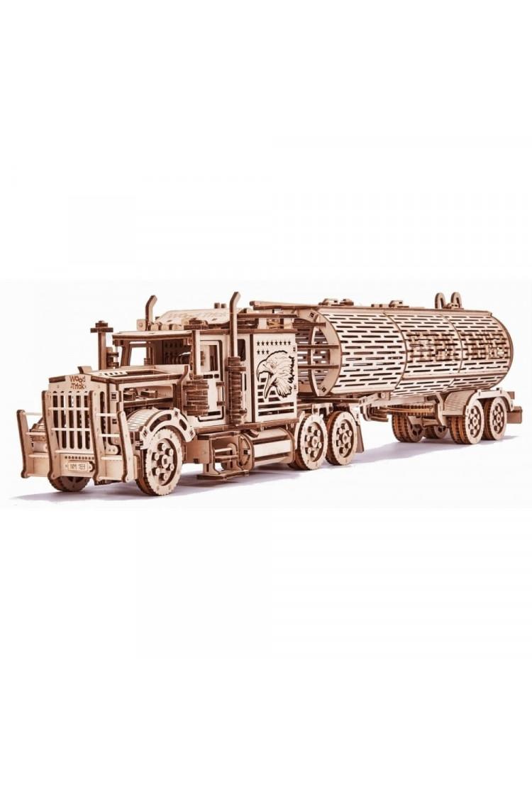"Механический 3D-пазл из дерева Wood Trick ""Биг Риг Цистерна"""