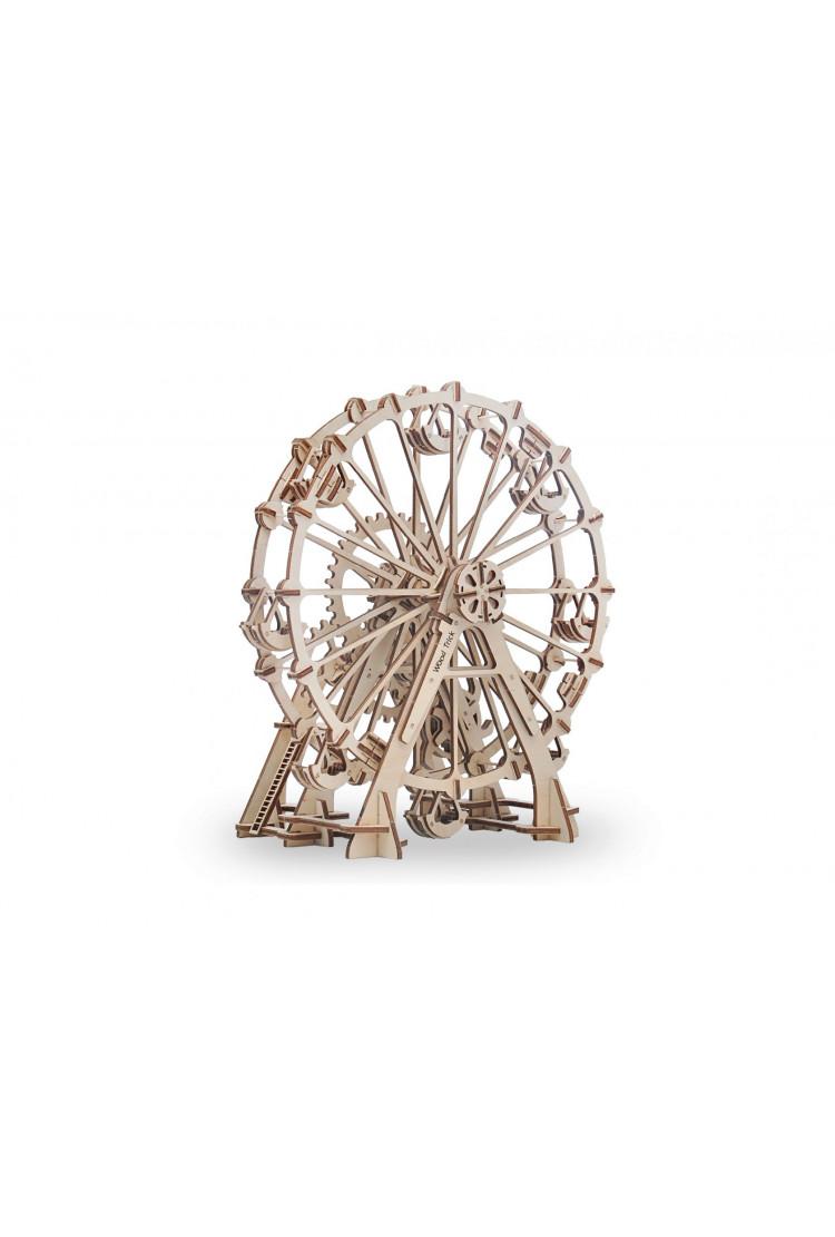 Механический 3D-пазл из дерева Wood Trick Колесо Обозрения