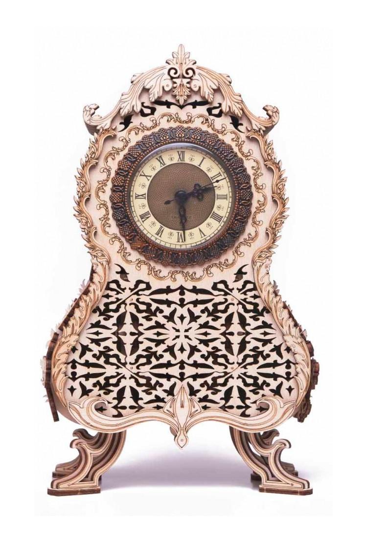 Механическая сборная модель Wood Trick Винтажные часы
