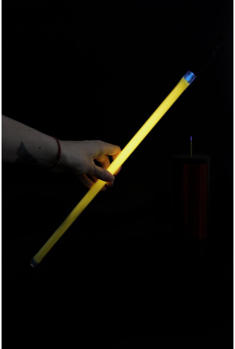Неоновая трубка 40см Желтая