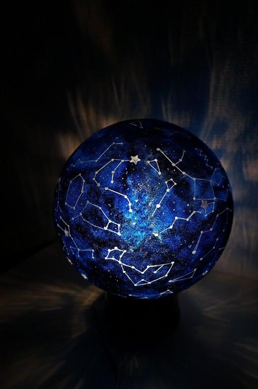 Светильник - Небесная сфера (20 см)