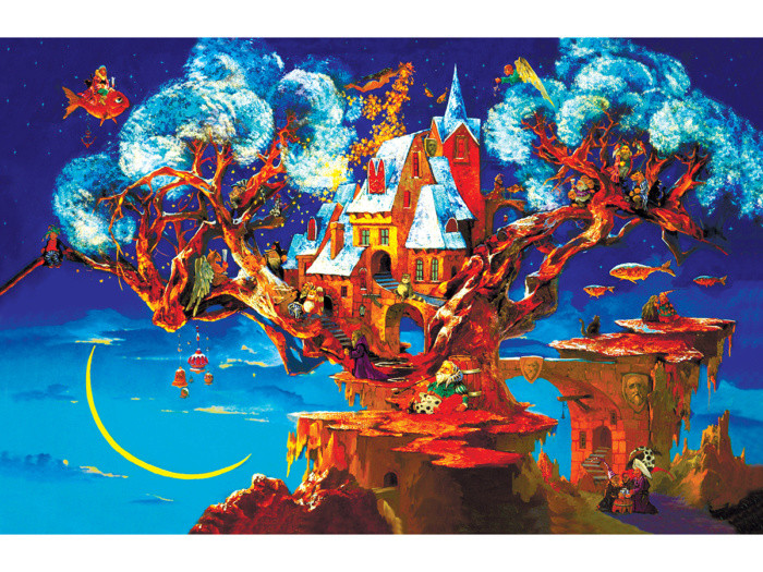 "Деревянный пазл: DaVICI ""Дерево сновидений"" (193 деталей)"